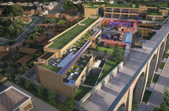 Edifican complejo mixto con hotel en Querétaro