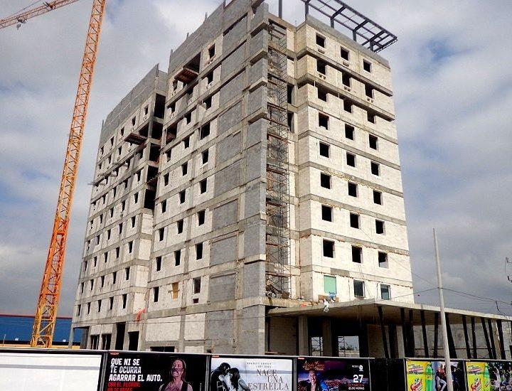 Inicia fase de acabados hotel en Av. Miguel Alemán