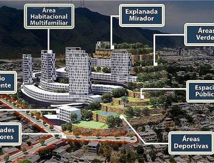Otorgan permiso a complejo de uso mixto de 14 torres en MTY