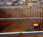 Alistan cimentación de complejo de uso mixto en San Pedro