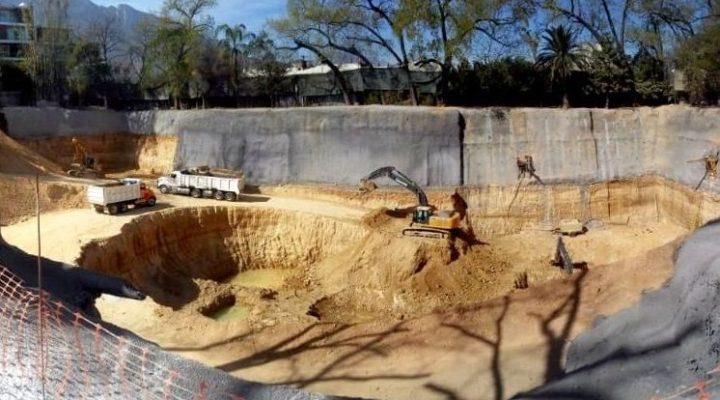 Realizan excavación para levantar proyecto 'multitorres' en SP