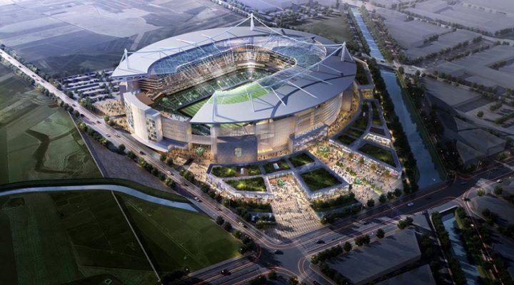 Hará empresa de EU estadio 'Premium' en León; inicia mecánica de suelos