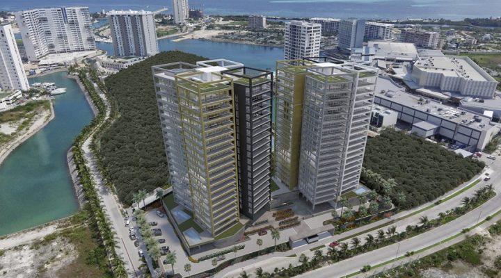 Proyectan 2 torres de lujo en Puerto Cancún; invierten mil mdp