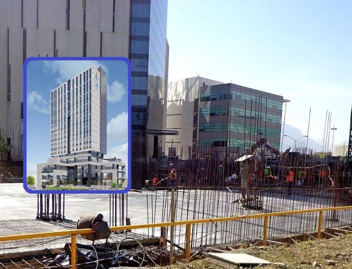 Iniciará despegue estructural de hotel y oficinas; tendrá 19 niveles