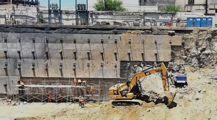 Alistan cimentación de torre de 30 niveles en MTY