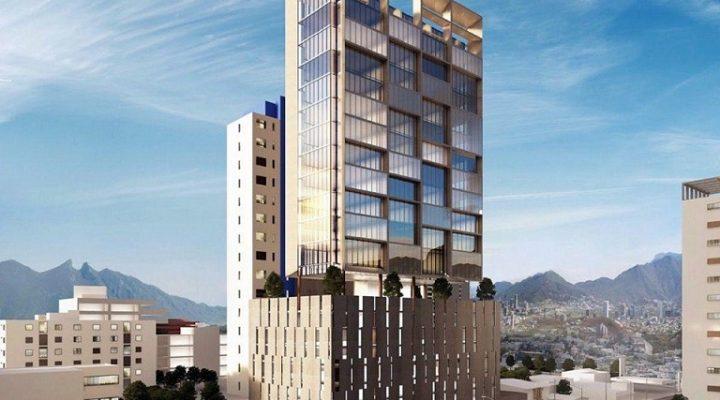 Culminan 7 niveles de estacionamiento de torre;  inician pisos de oficinas