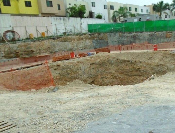 Inicia excavación de proyecto de oficinas en zona Cumbres