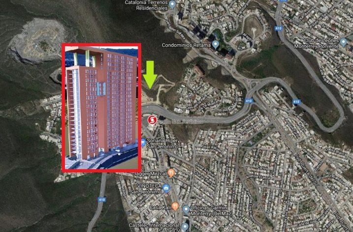 Edificarán una nueva torre habitacional de 25 niveles en Cumbres