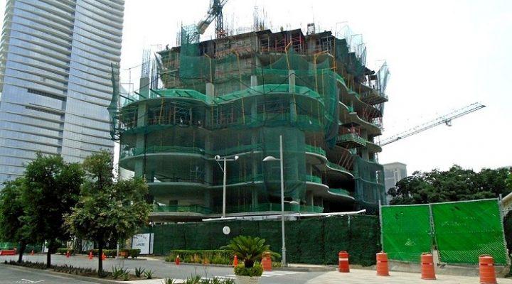 Levantan primeros niveles de torre de 130 metros en SPGG