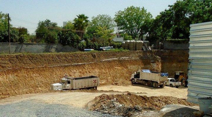Avanza excavación de proyecto comercial en San Pedro