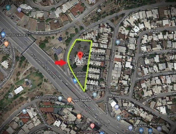 Adiós Chili's Leones; planean realizar conjunto vertical (Tendrá 6 sótanos)
