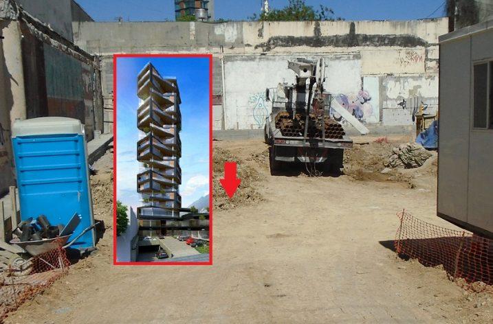 Arranca construcción de torre 'esbelta' de 17 pisos