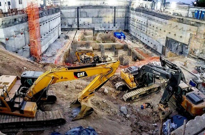 Arranca cimentación de edificio de 30 niveles en Av. Constitución