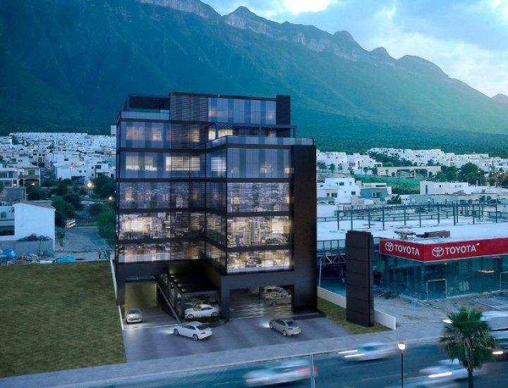 Alistan cimentación de edificio corporativo en MTY
