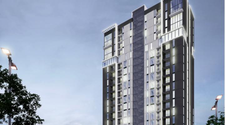Concluyen fase estructural de torre habitacional de 21 pisos
