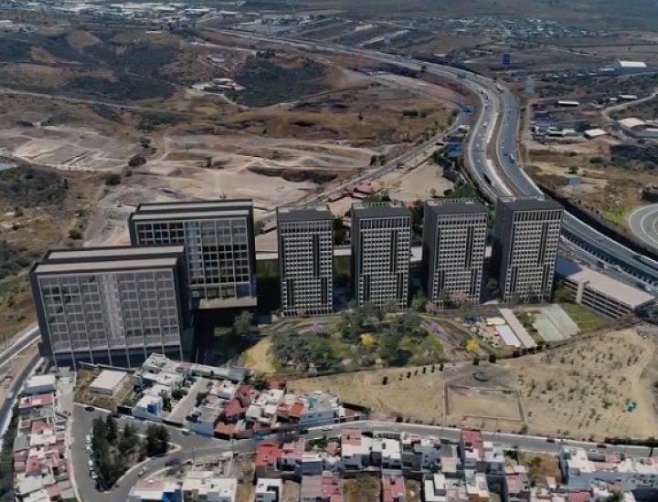 Crearán complejo vertical de 6 torres en Av. Constituyentes