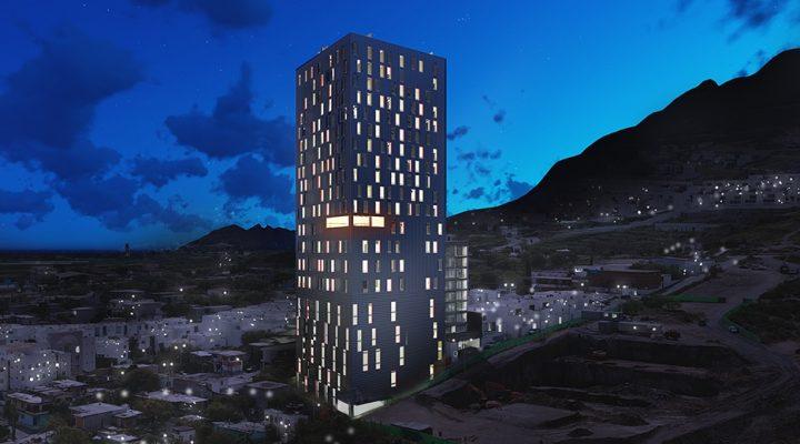 Levantan torre de 'depas' de 22 pisos en Valle Poniente