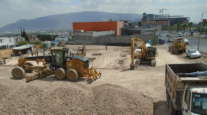 Alistan construcción de agencia en Puerta de Hierro