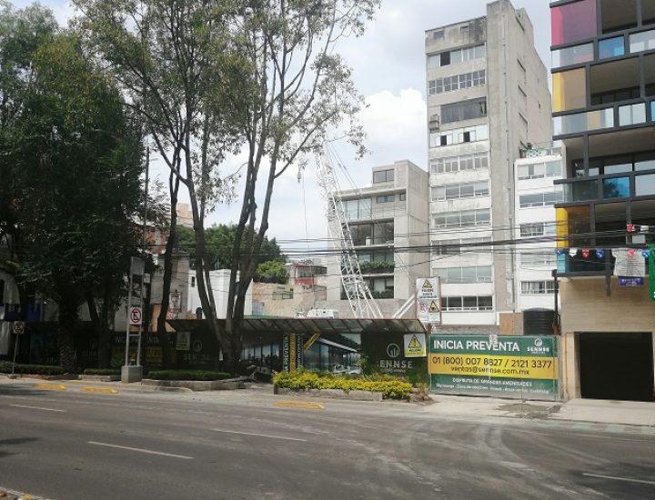Arranca construcción de torre de 'depas' en La Condesa