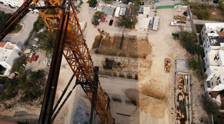 Arranca obra civil de nueva torre en Santa Catarina