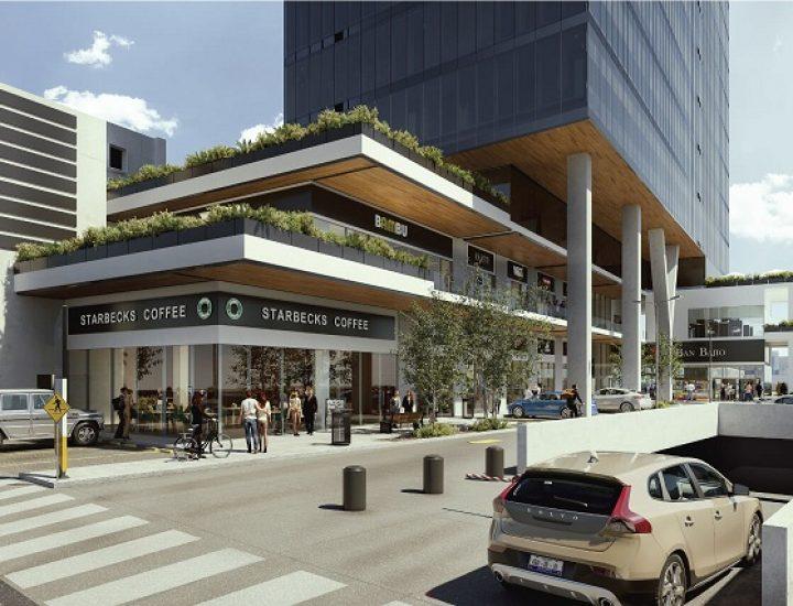 Alistan construcción de edificio de uso mixto en Centro Sur