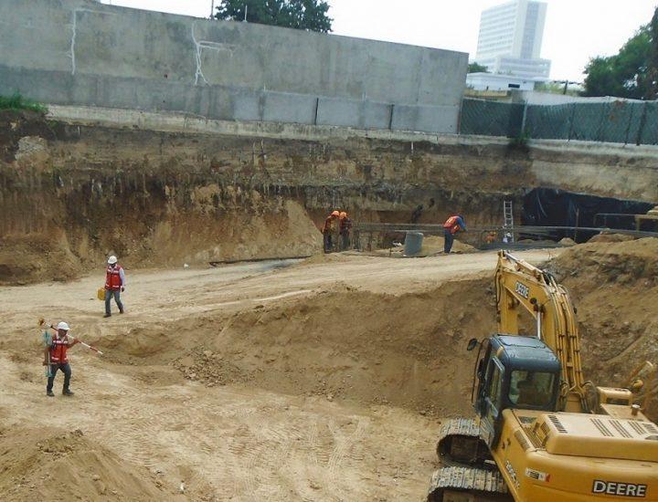Realizan obras preliminares para edificar torre en MTY