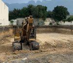 Ejecutan excavación para proyecto multiusos en San Pedro