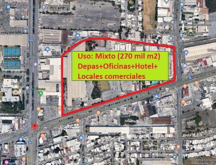 Avanza preconstrucción de 'megacomplejo' de usos múltiples en MTY