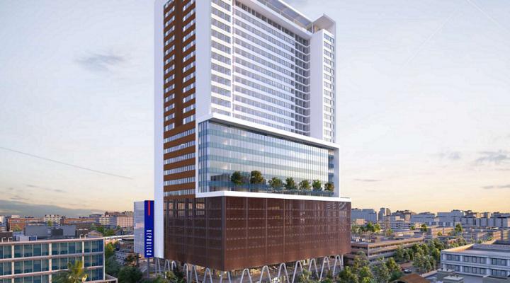 Inician cimentación de torre de uso mixto de 30 pisos; invertirán $1,280 mdp
