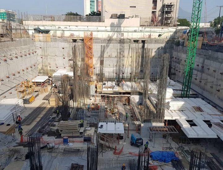 Alcanza nivel de suelo proyecto de uso mixto de 21 pisos