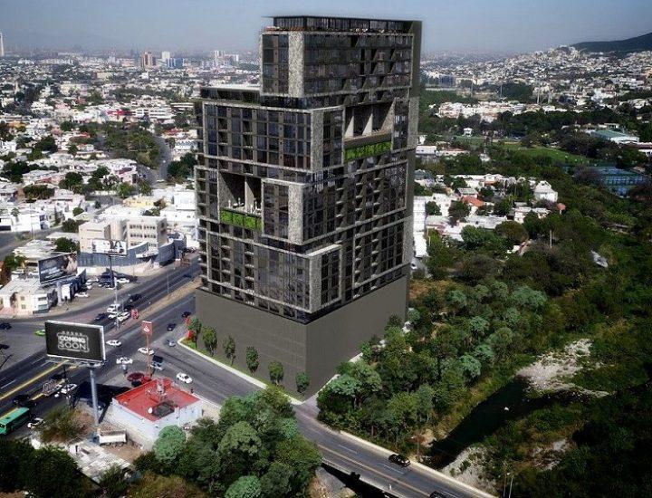 Proyectan una nueva torre de 26 pisos en MTY