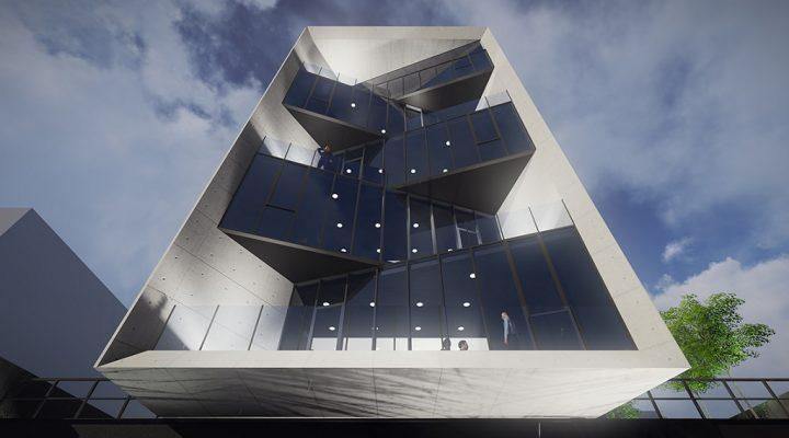 Levantan estructura de torre de uso mixto en zona Valle