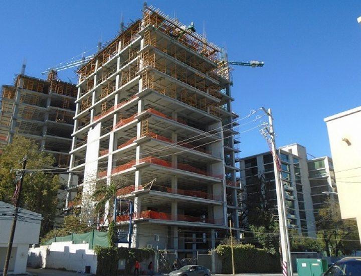 Avanza estructura de complejo de 'depas' en San Pedro