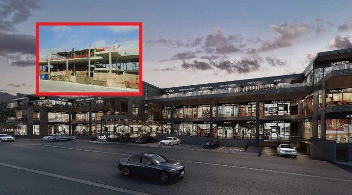 Avanza construcción de edificios comerciales en Cumbres