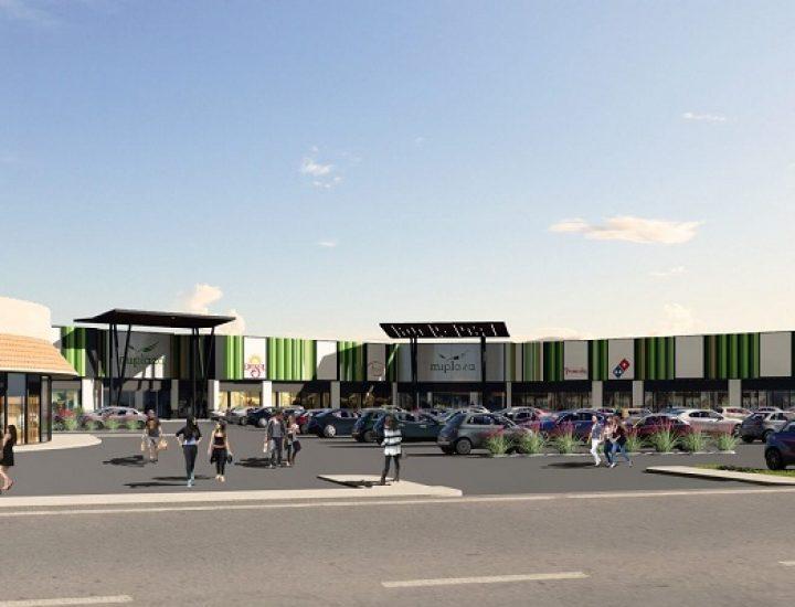 Alistan construcción de centro comercial en Linares