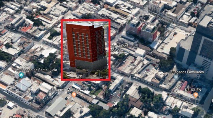 El conjunto 'vertical' más nuevo del Barrio Antiguo; arranca obra