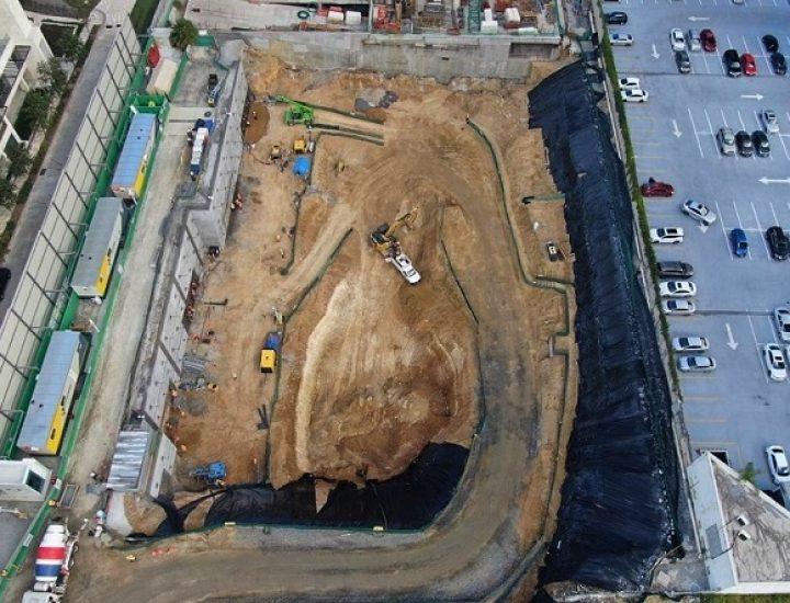 Avanza excavación de proyecto de 'depas' en San Pedro