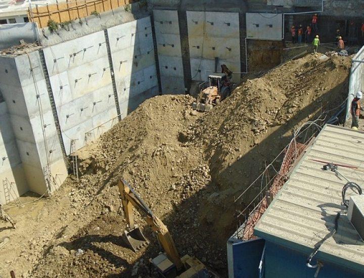 Alistan cimentación de torre de 16 niveles en zona Contry