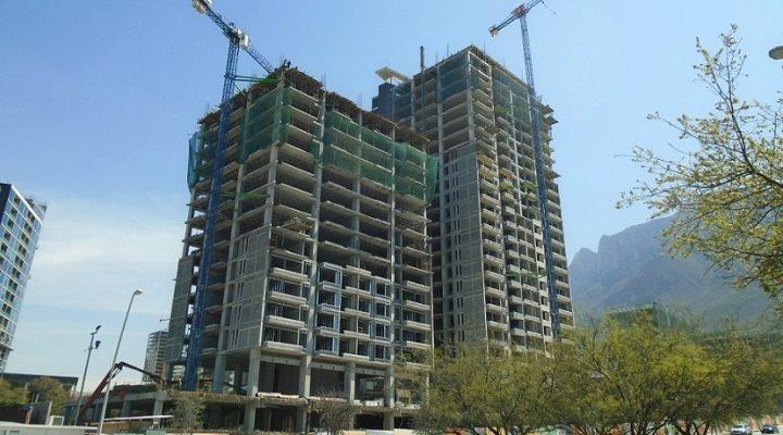 Alcanza 82% fase estructural de torres 'gemelas' en Valle Poniente