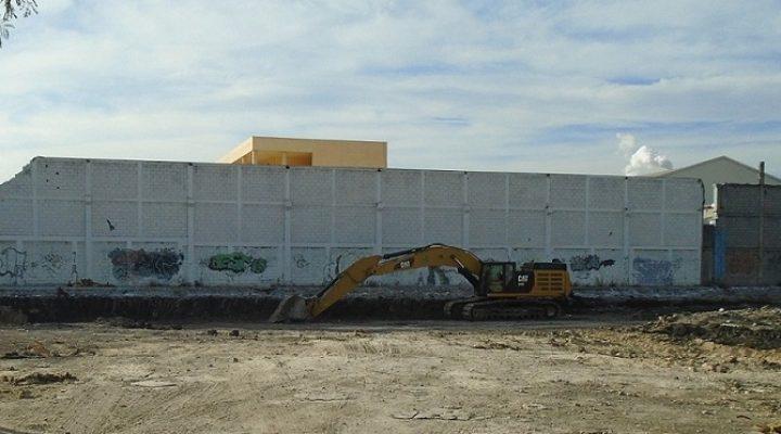 Inicia construcción de complejo comercial en Av. Churubusco