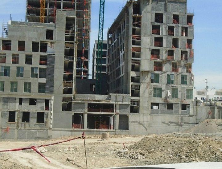 Avanza ejecución de edificio de uso mixto en Valle Poniente