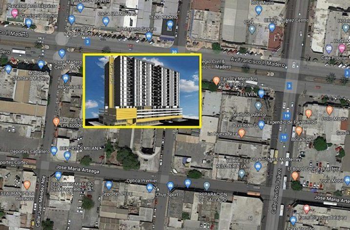Alistan nuevo proyecto vertical de uso mixto en Av. Madero