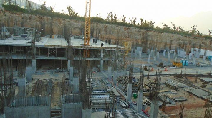 Inician estructura de primeros niveles de complejo de 100 mil m2