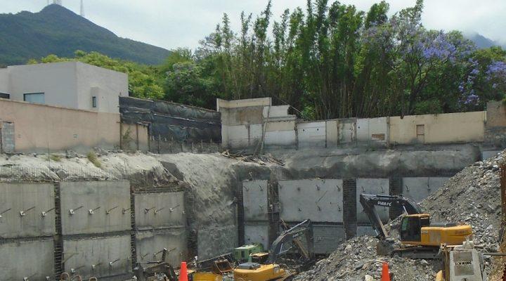 Finaliza excavación de inmueble corporativo en San Agustín