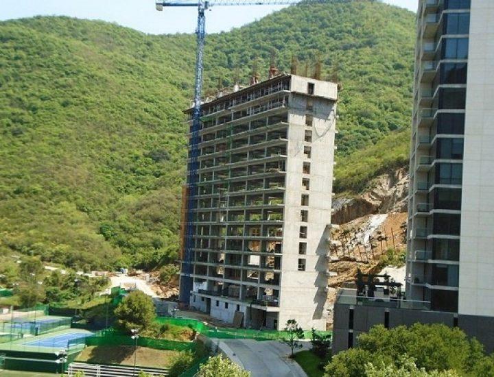 Crece estructura de torre departamental de lujo en MTY