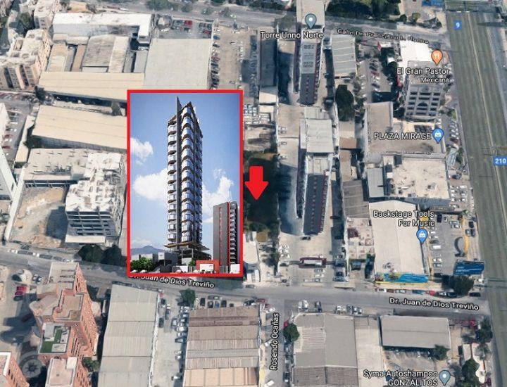 Avanzan ingenierías para complejo de 30 pisos en San Jerónimo
