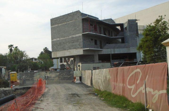 Levantan primera torre habitacional (de 6) en GPE