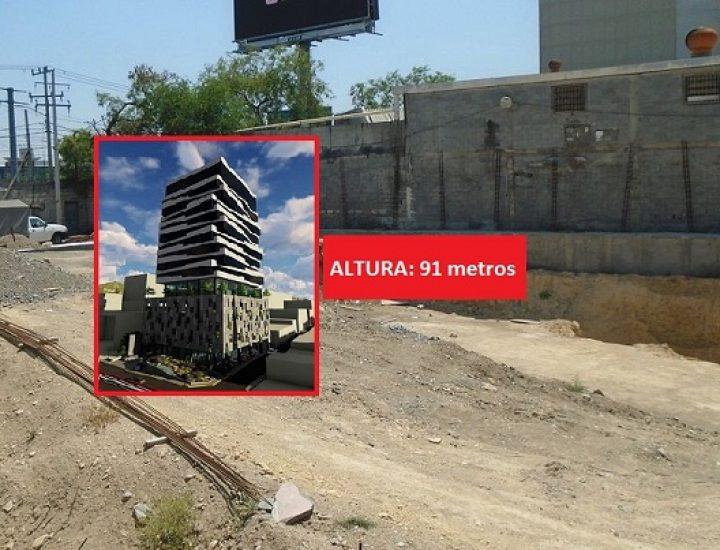 Planean reactivar proyecto de oficinas en Av. Morones Prieto