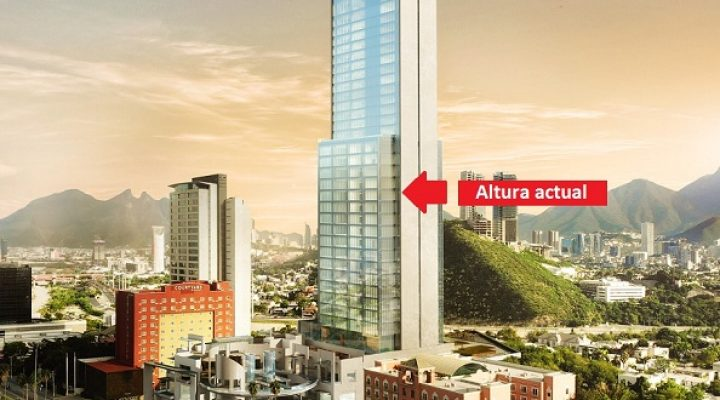 Avanza estructura de edificio multiusos en Av. San Jerónimo