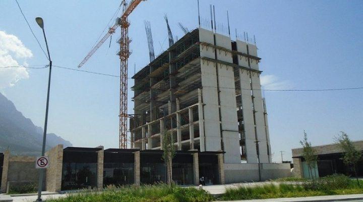 Levantan primera torre habitacional (de 2) en Valle Poniente